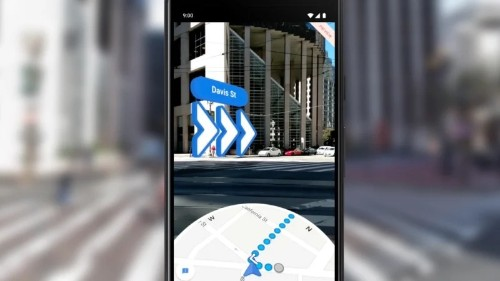 Google Maps AR walking directions arrive on iOS and Android