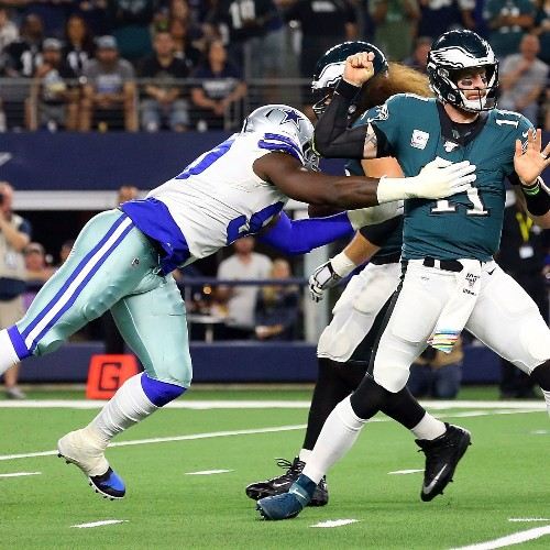Cowboys, Saints Soar; Eagles, Seahawks Crash