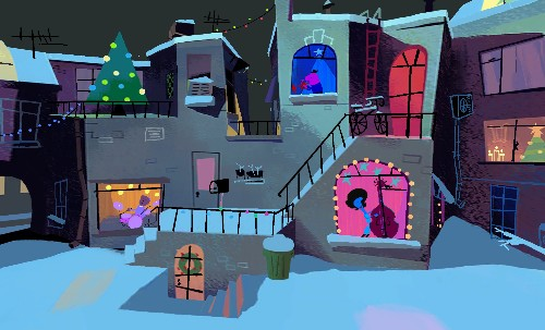 Rear Window at Christmas: behind Google's new interactive animated short
