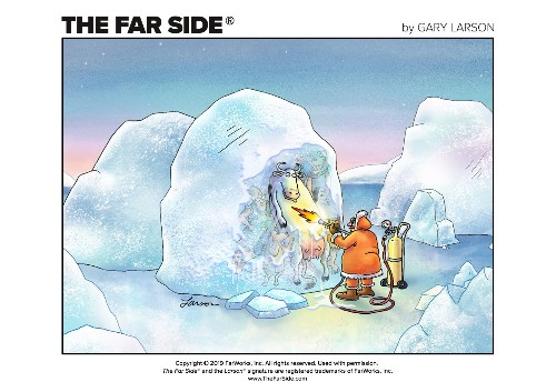 The Far Side is officially online for the first time, with new comics to come
