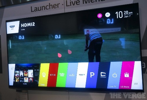 LG's new webOS interface is a smart, simple, but occasionally jittery way to navigate your TV