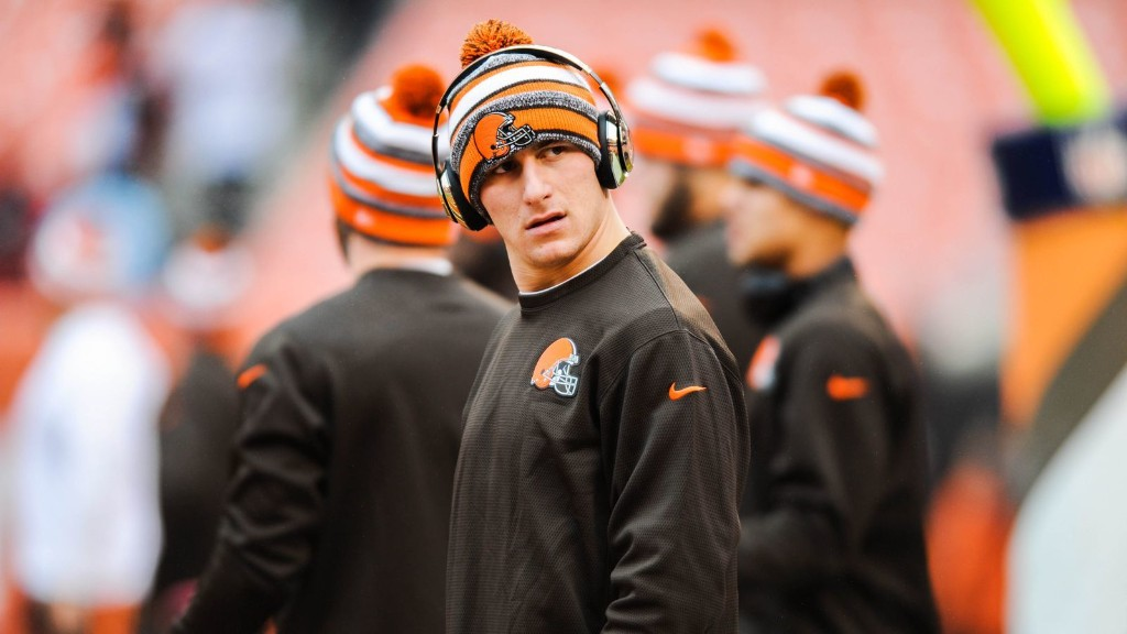 Johnny Manziel's future with Browns in doubt