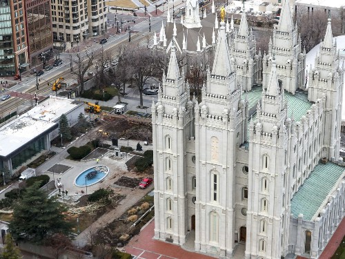 What the Salt Lake Temple can teach us about the 2020 election