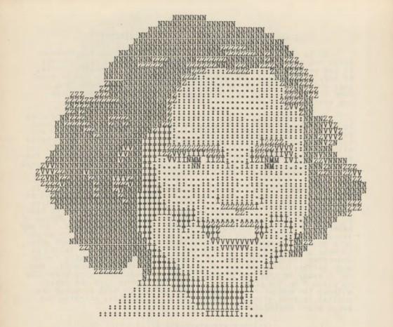 The ASCII art of the 1930s