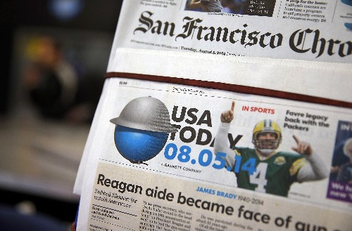 Inundated by spam Facebook accounts, USA Today has asked the FBI to investigate