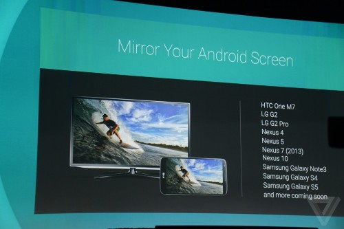 Chromecasts will soon be able to mirror your Android phone