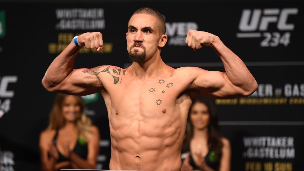 Live: UFC 243 weigh-in video results from Melbourne