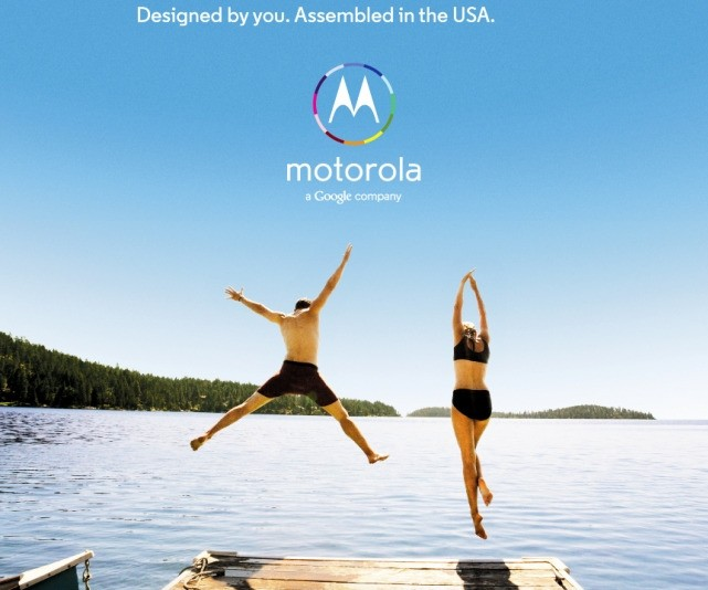 Motorola ad calls the Moto X the 'first smartphone you can design yourself'