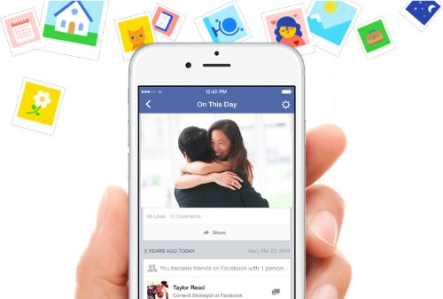 Facebook officially launches nostalgia-inducing 'On This Day' feature