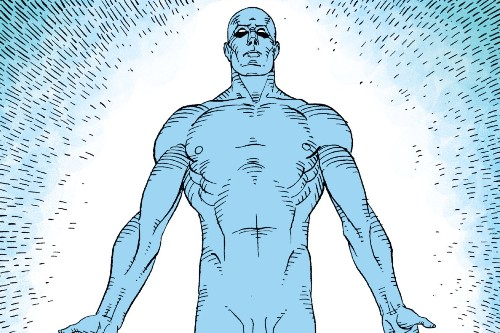 Doctor Manhattan's actual powers boggle the mind