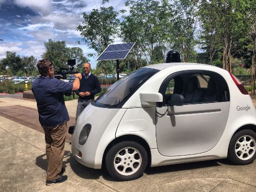 Google's self-driving car is 'close to graduating from X'