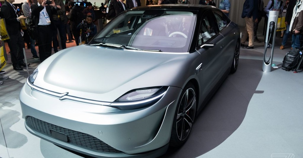 Sony's electric car is the best surprise of CES