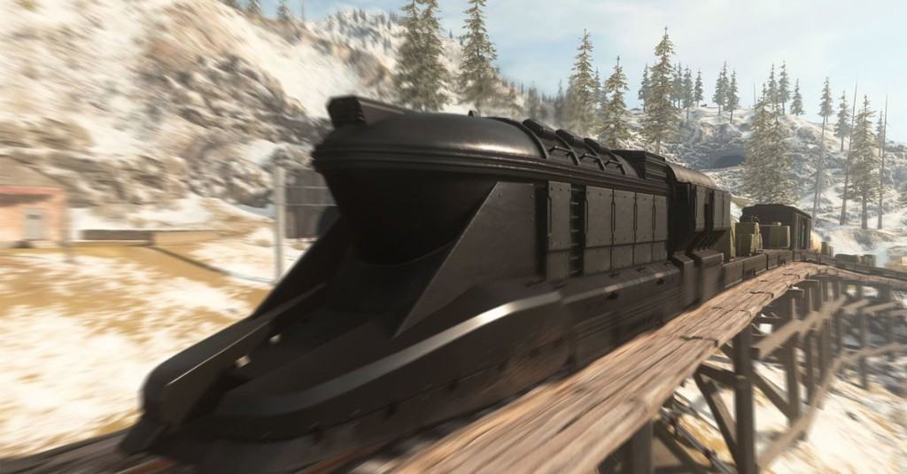 What happens when Call of Duty: Warzone players try to roadblock the new train?