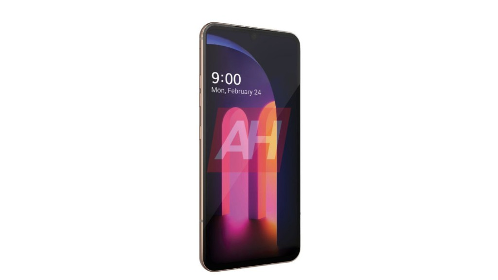 LG V60 ThinQ shown off in leaked press render