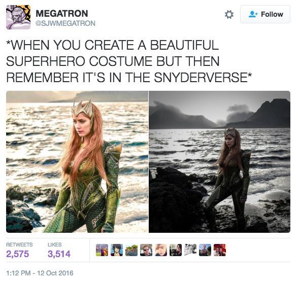 The DC Comics cinematic universe's biggest problem, in one tweet