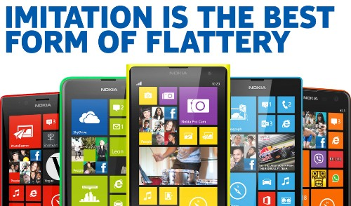 Nokia racks up the retweets by poking fun at Apple's iPhone 5C