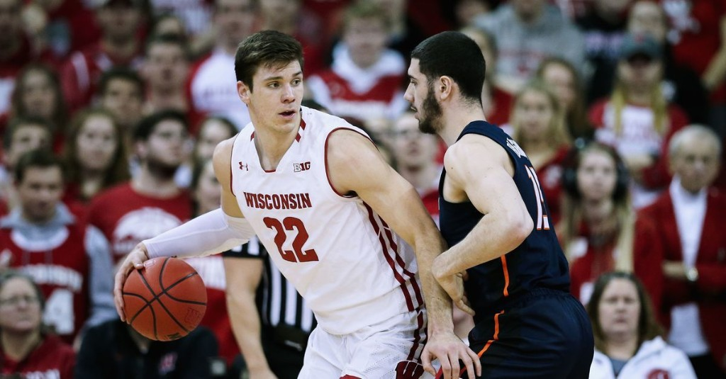 Wisconsin basketball: Ethan Happ named to B1G men's basketball all-decade second team