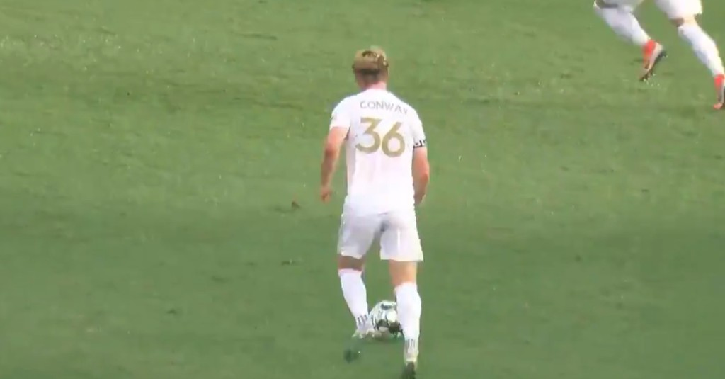Jackson Conway's wondergoal is worth watching over and over again