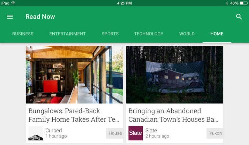 Google's Play Newsstand app comes to iOS as replacement for Currents