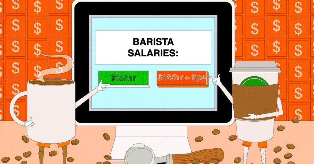 Why Baristas All Over the Country Are Telling Each Other Their Salaries