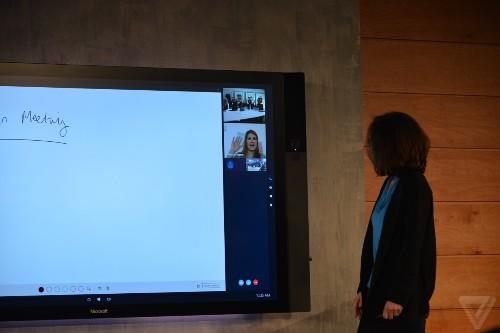 Microsoft's huge Surface Hub displays delayed again