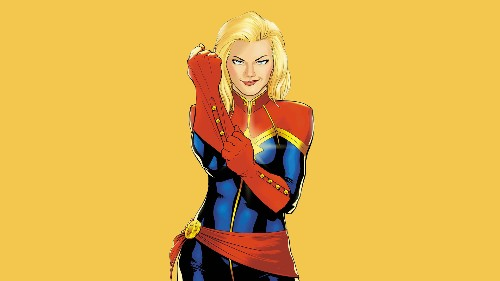 Here's our first look at Brie Larson's Captain Marvel