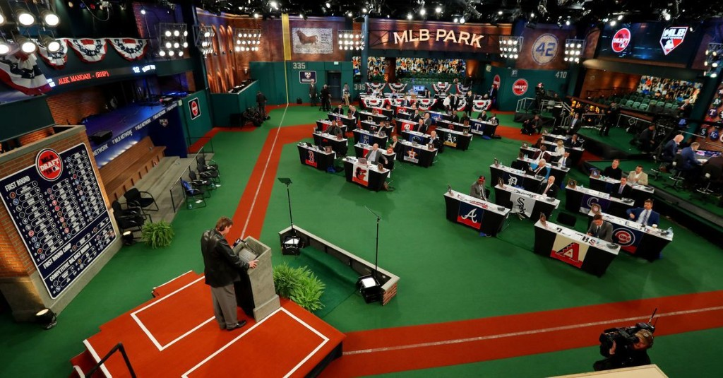 We'll likely see the Angels' 1st-round pick during MLB Draft TV coverage