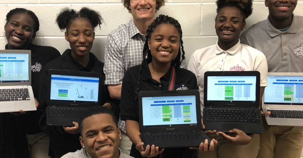 This Memphis teacher wanted to make learning physics more engaging, so he created a website. Now it's used in 40 countries.