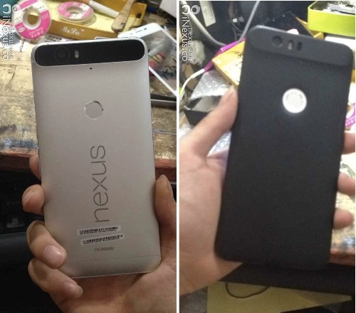 Leaked images reveal Huawei's Nexus with an unusual camera bump