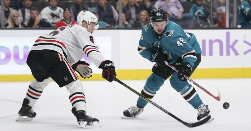 Sharks at Blackhawks: Lines, gamethread, and where to watch