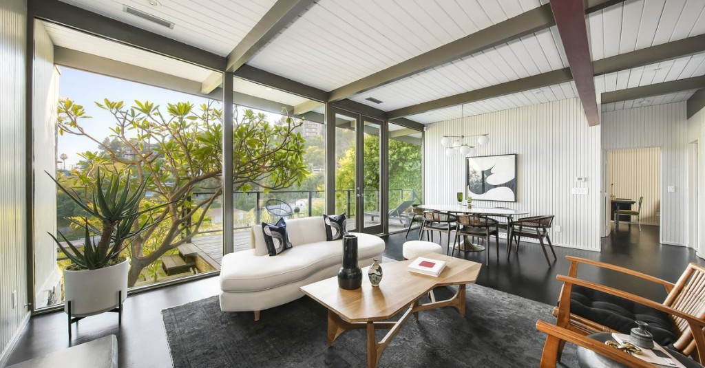 Mid-Century Post and Beam in Silver Lake Asks $2M