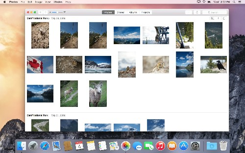 First look at Apple Photos, the iPhoto overhaul for Mac