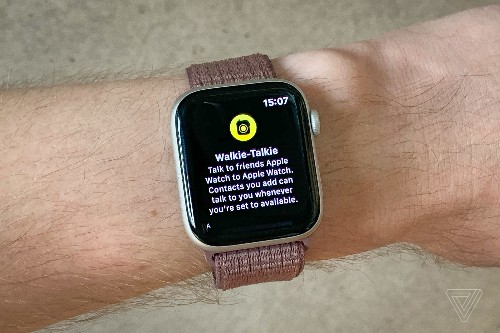Apple Watch vulnerability forces Apple to disable Walkie-Talkie