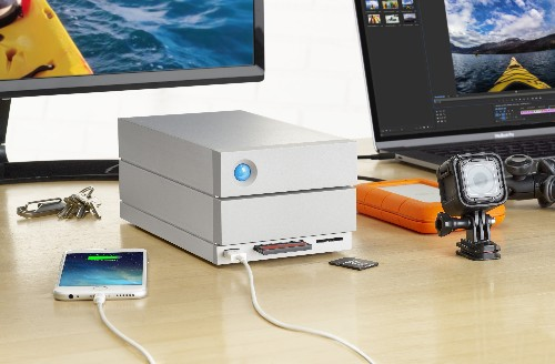 LaCie's Thunderbolt 3 dock offers up to 20TB of storage