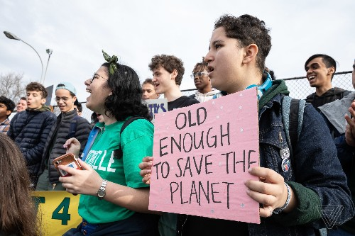Students 'strike for climate' across the United States