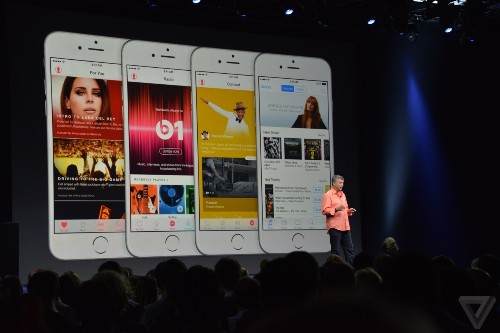 The entire music industry is just another feature of the iPhone