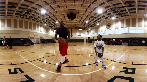 LeBron James and Oculus created a 12-minute virtual reality film