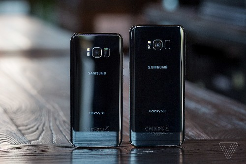 Samsung's Galaxy S8 has no ugly carrier logos to detract from its wonderful design