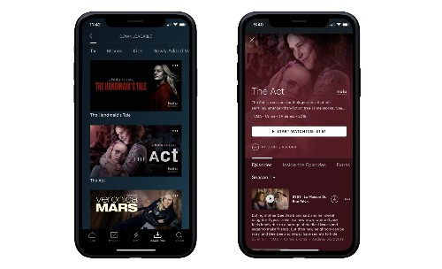 Hulu finally launches offline downloads, but only for customers on its No Ads plan