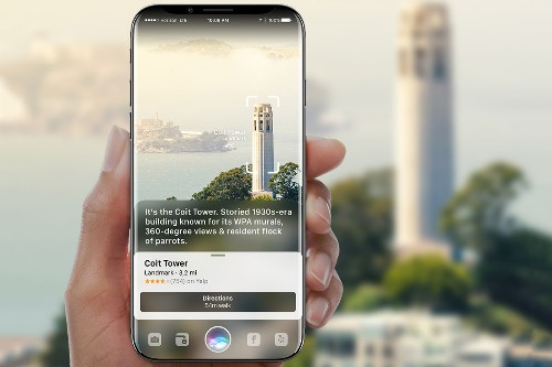 This iPhone concept presents a compelling use for a borderless screen
