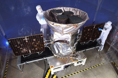 NASA's newest spacecraft will scour the galaxy for undiscovered planets