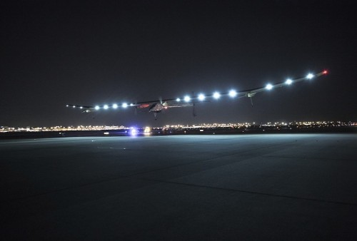 Solar Impulse travels 957 miles in furthest flight ever by solar-powered aircraft