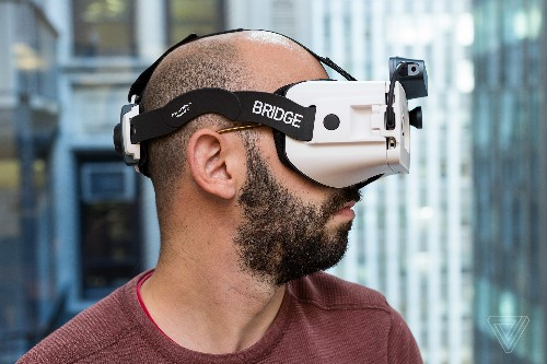 Bridge is a new headset that lets you mix virtual objects with the real world