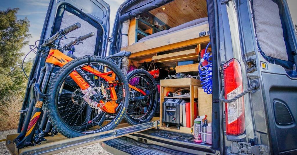 DIY camper van cost just $18K to build