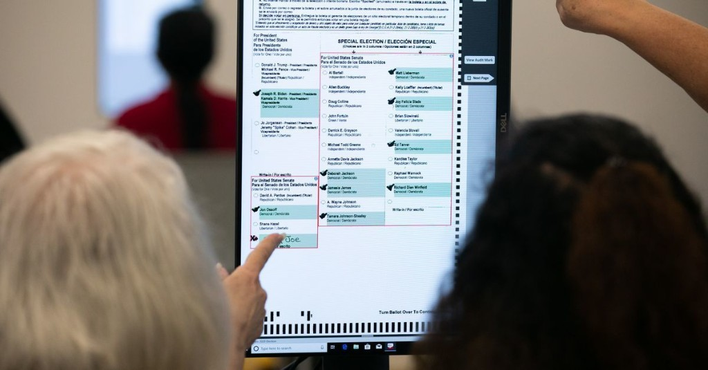 No, you cannot move to Georgia just to vote in the Senate runoffs
