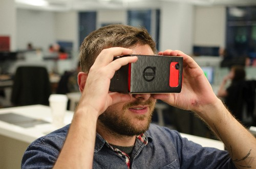 Volvo is using Google Cardboard to get people inside its new SUV