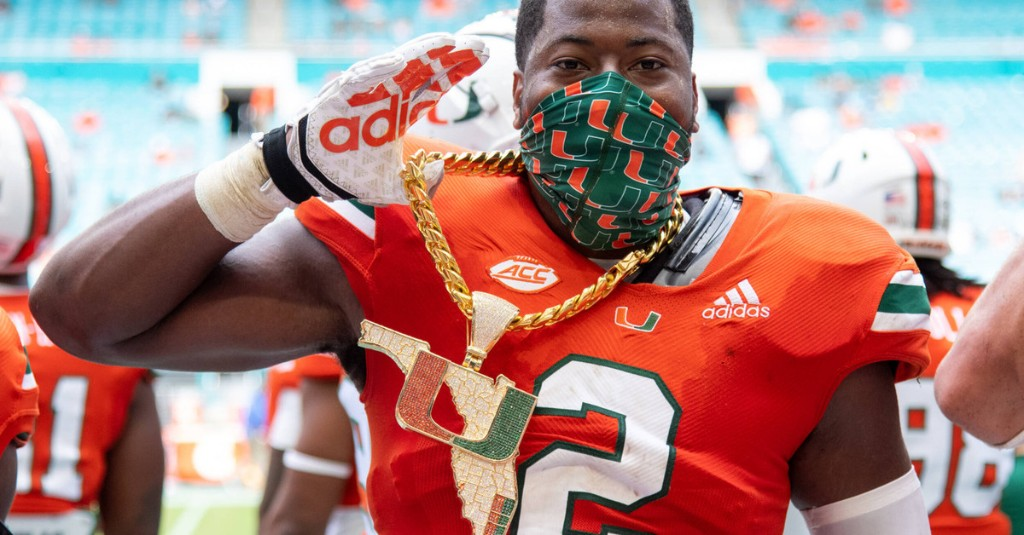 Poll Watch: Miami Jumps as Top 10 Teams Suffer Losses