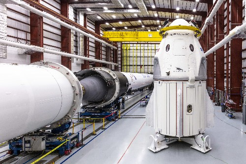 SpaceX's new passenger spacecraft suffers failure during engine test
