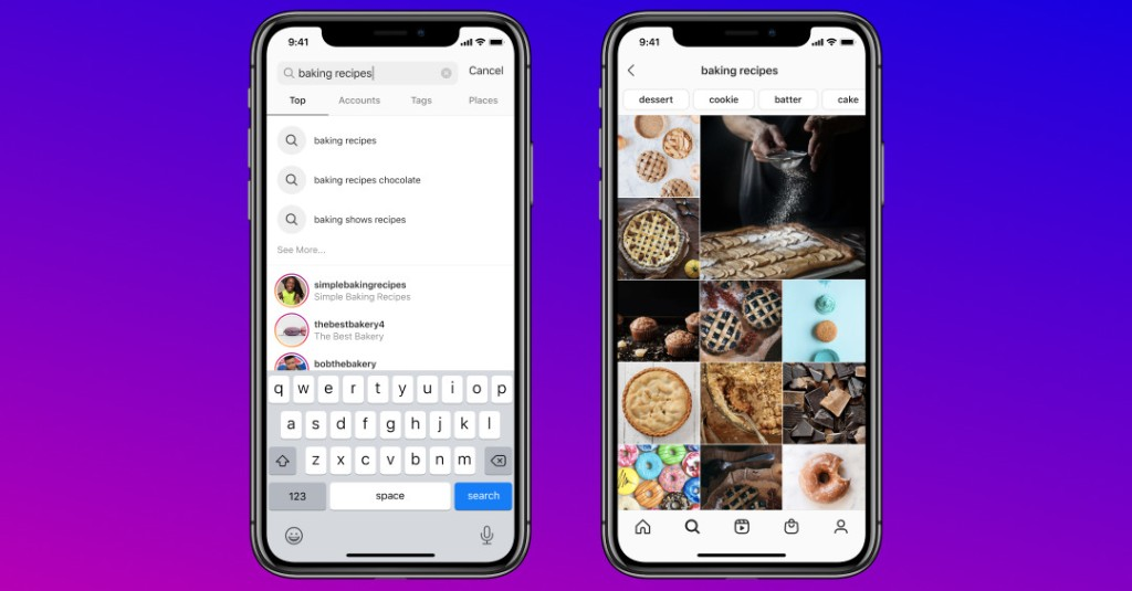 Keyword search is coming to Instagram