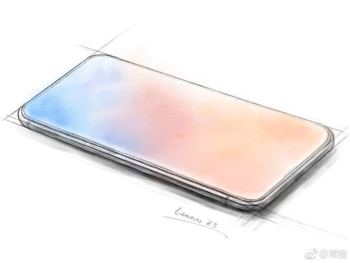 Lenovo teases what might be the first true 'all screen' phone